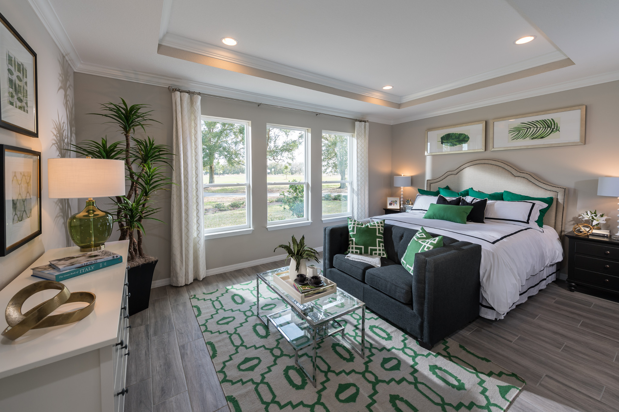 Trilogy at Ocala Preserve Connect Plan Master Bed