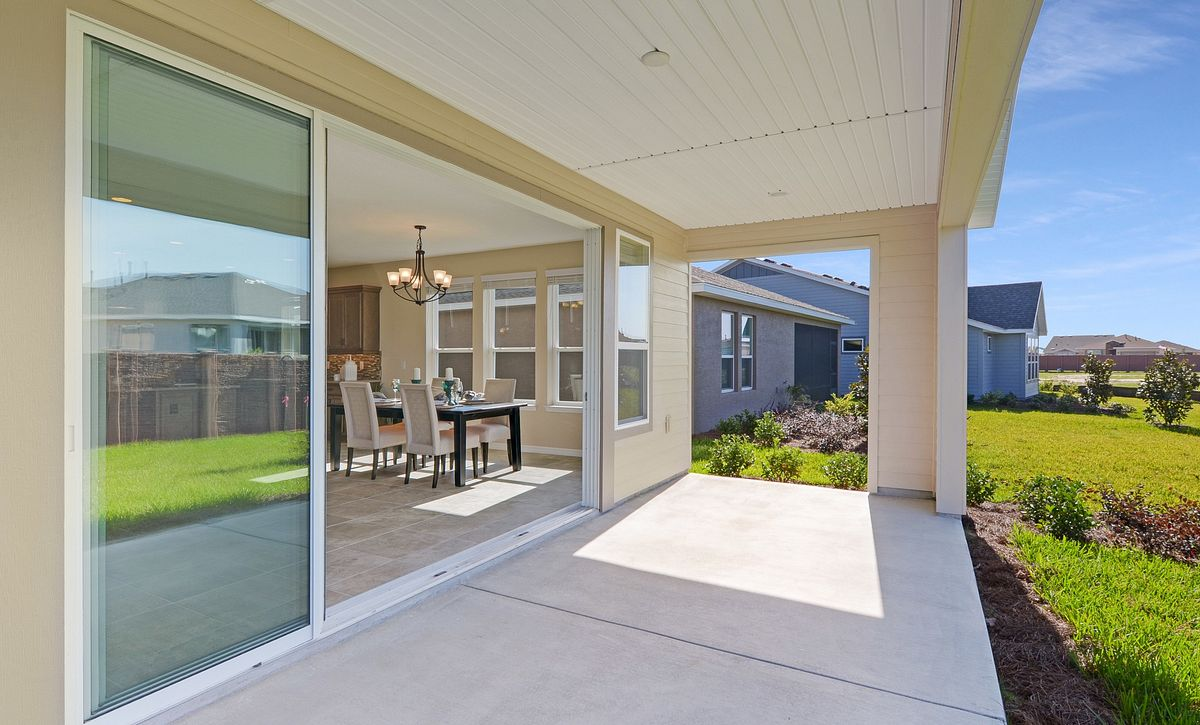 Trilogy at Ocala Preserve Quick Move In Refresh Plan Covered Lanai