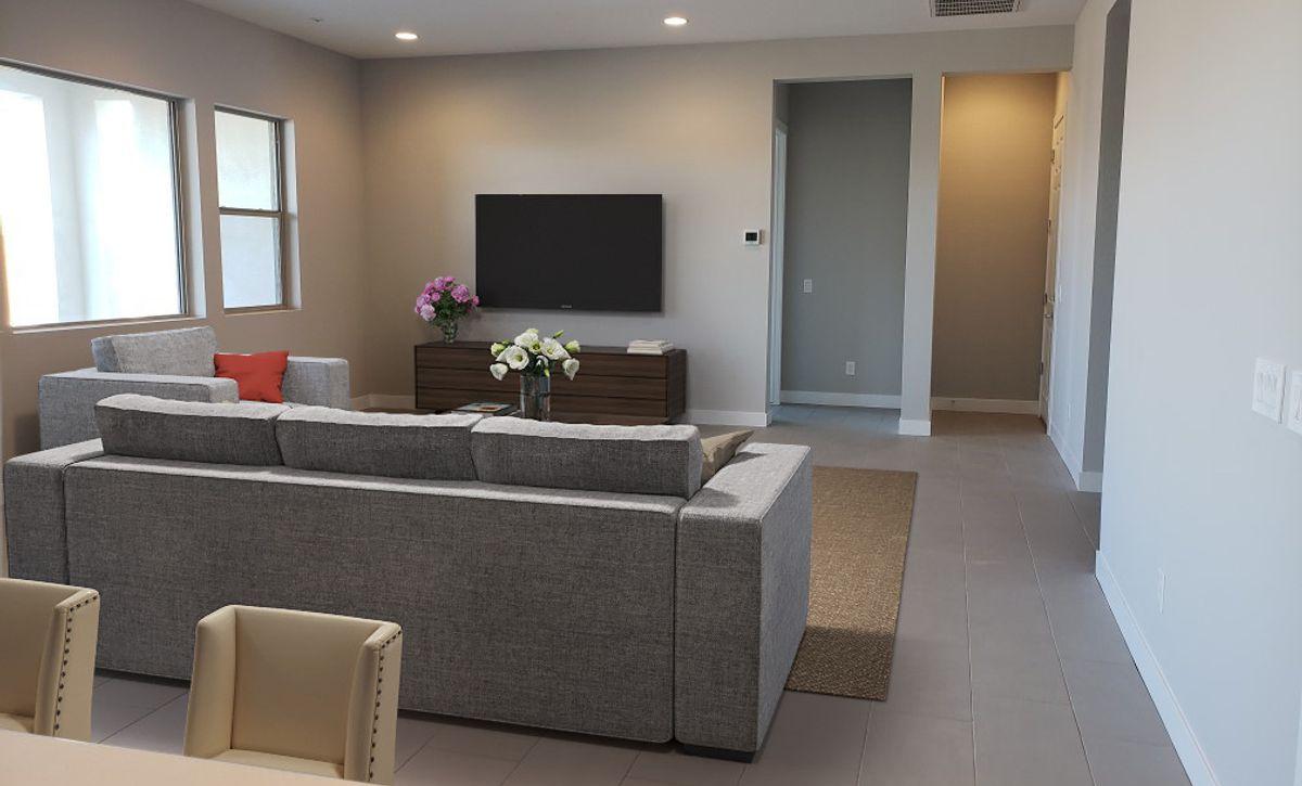 Evolve Homesite 7 Great Room