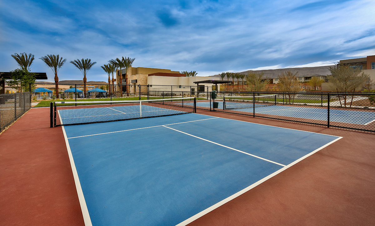 Trilogy Summerlin Pickleball Courts