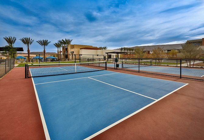 Trilogy Summerlin Outlook Club Pickle Ball Courts