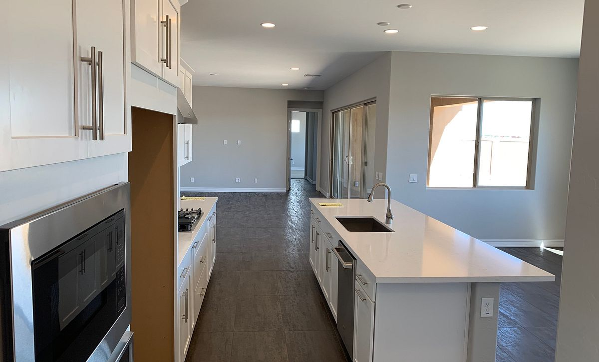 Origin, Homesite 258, Kitchen to Great Room
