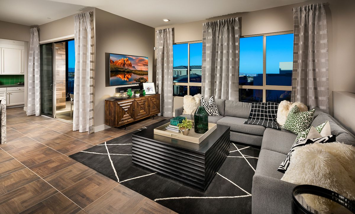 Trilogy in Summerlin Viewpoint Great Room