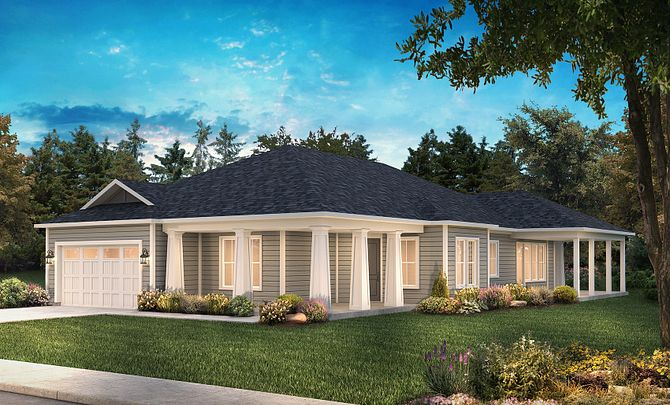 Captivate Exterior A: Modern Cottage