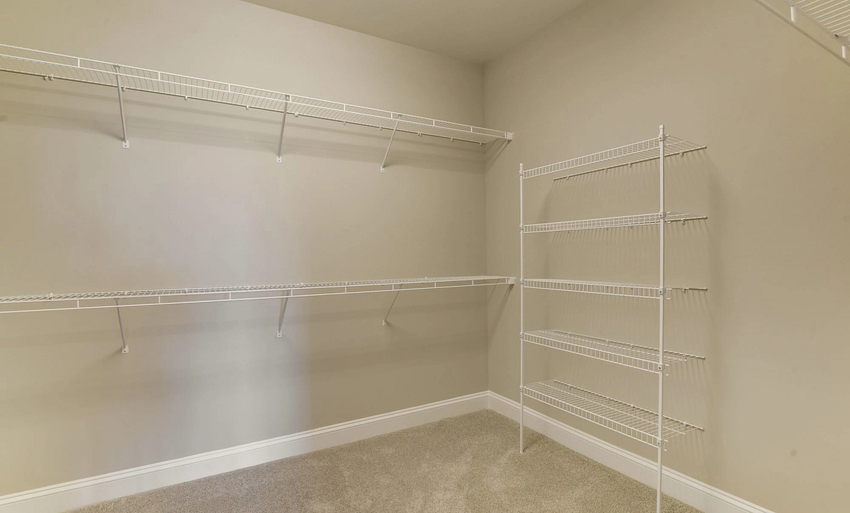 Trilogy at Lake Frederick Quick Move In Home Nice Plan Walk In Closet