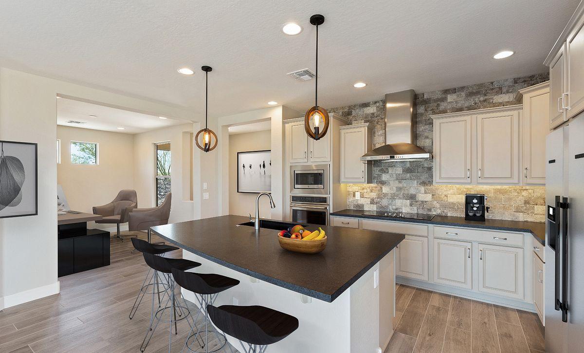 Virtually Rendered Kitchen