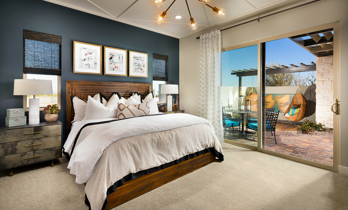 Trilogy Summerlin Splendor Master Bedroom