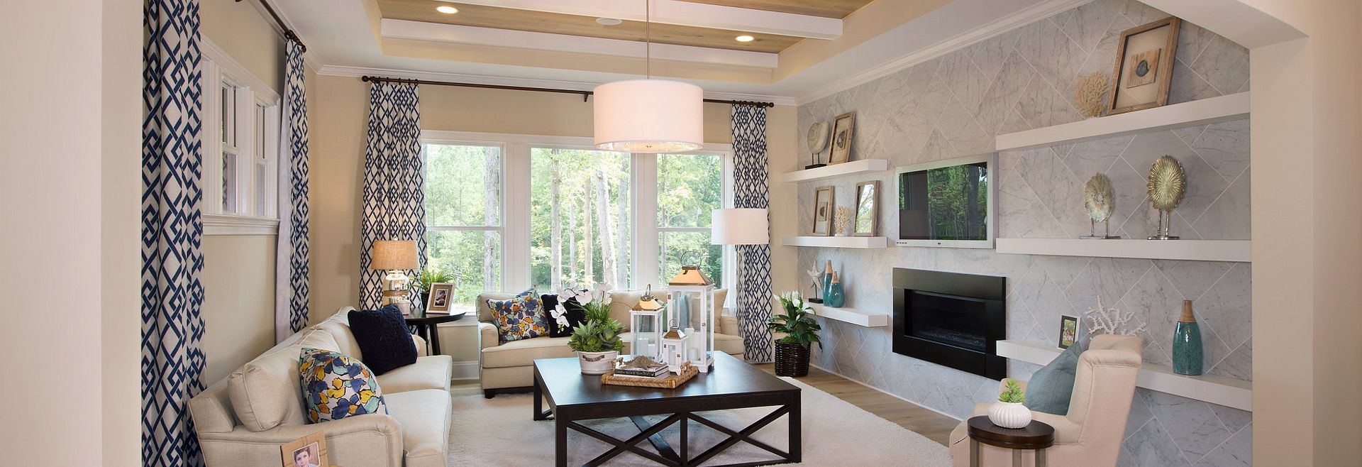 Providence Plan Family Room