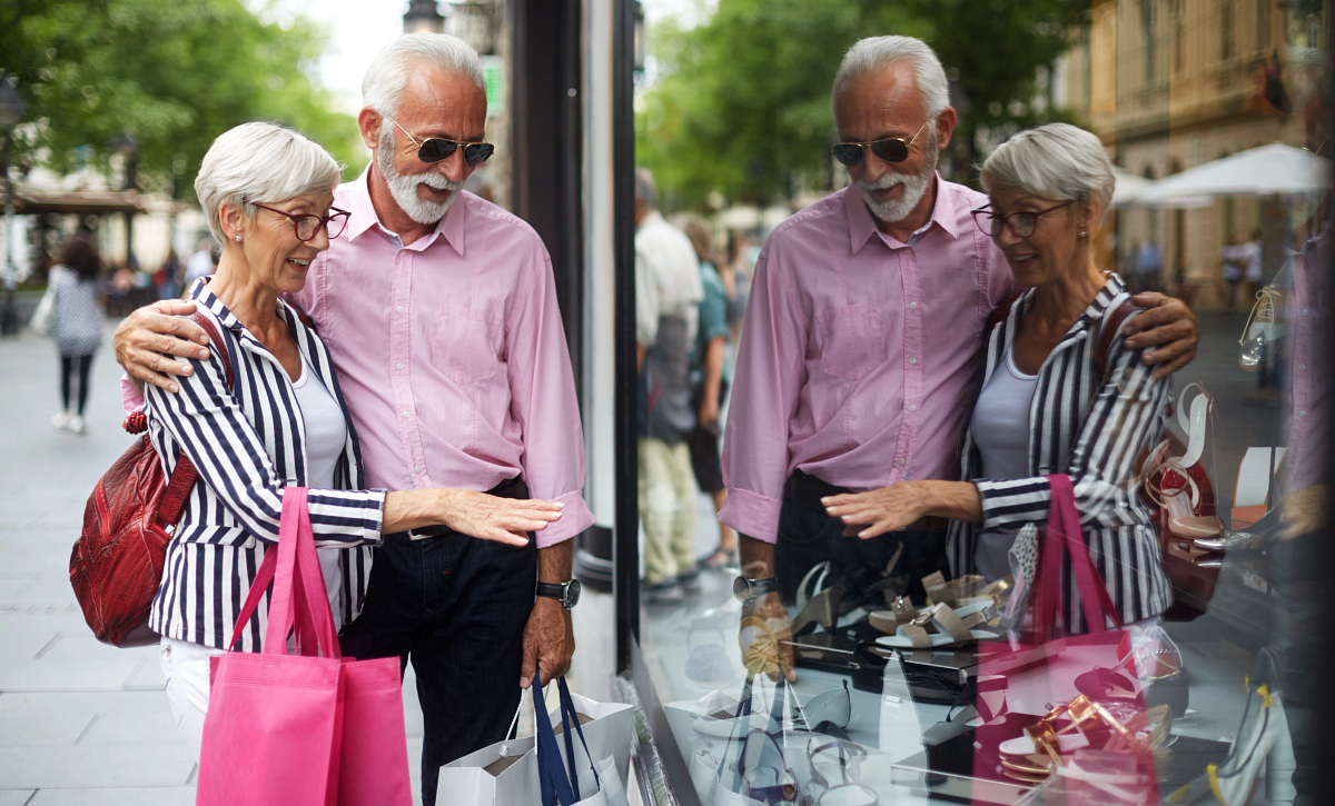 Man and Woman SHopping