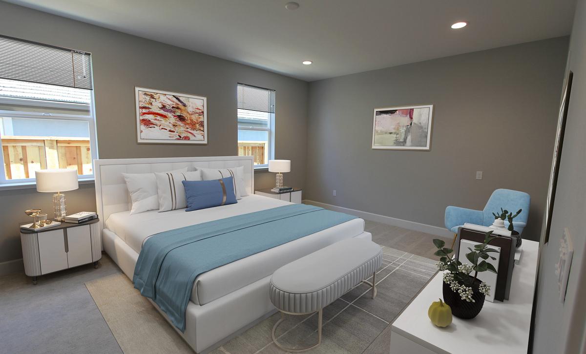 Plan 3 Bedroom 4 Virtual Staging