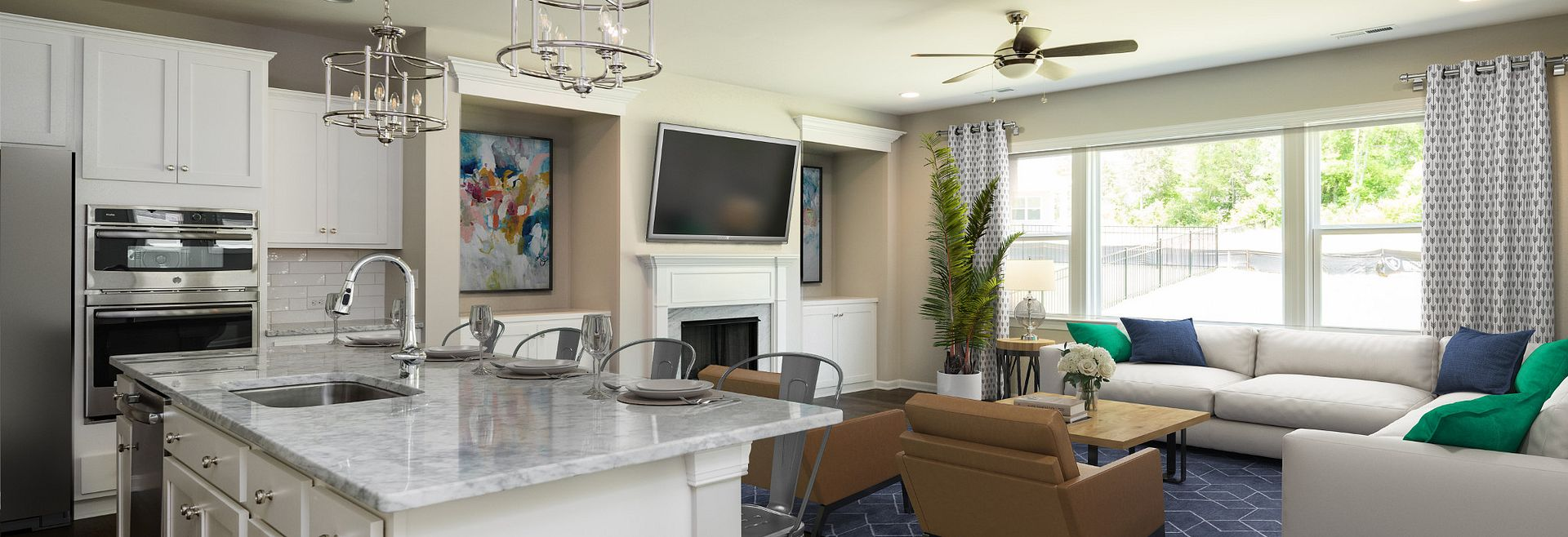 Kingston Family Room (staged)
