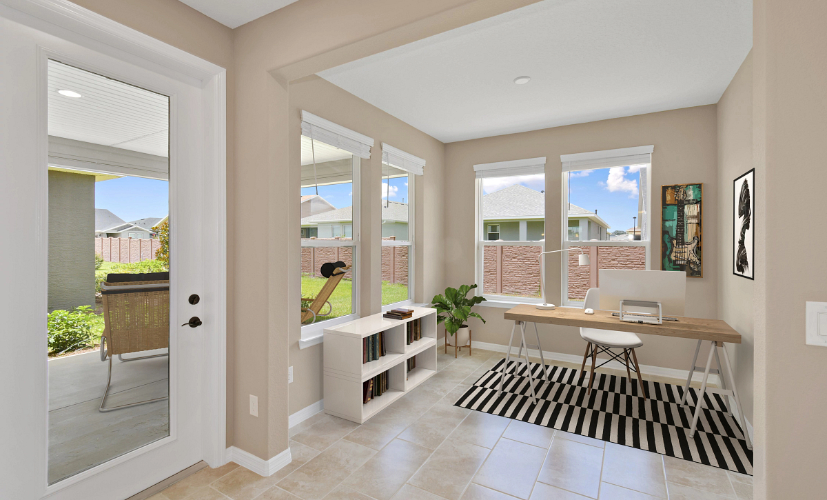 Trilogy at Ocala Preserve Virtually Staged Quick Move In  Den