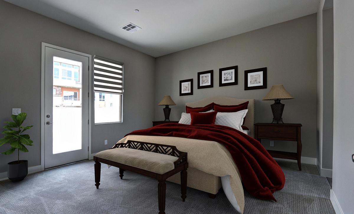 Trilogy Summerlin Splendor Master Bedroom
