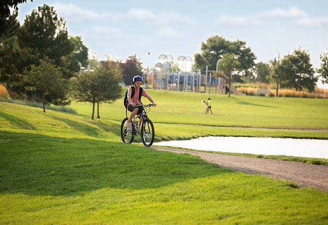 Reunion Community Reunion Park Bike Riding
