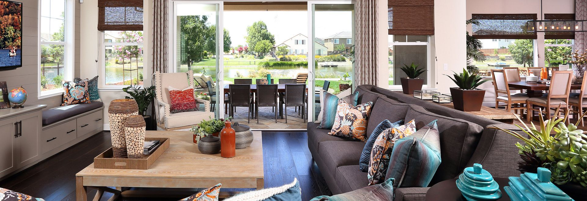 Shoreline Plan 3 and 4 Summer Lake Living Room