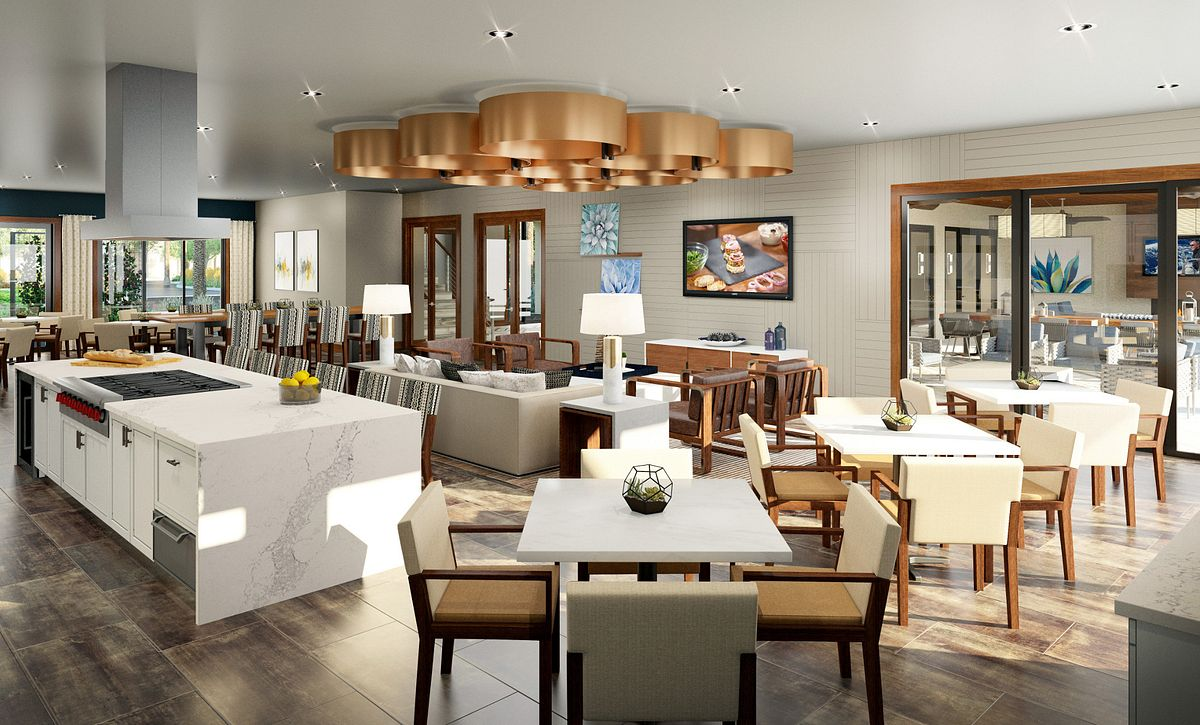 Trilogy in Summerlin Culinary Kitchen