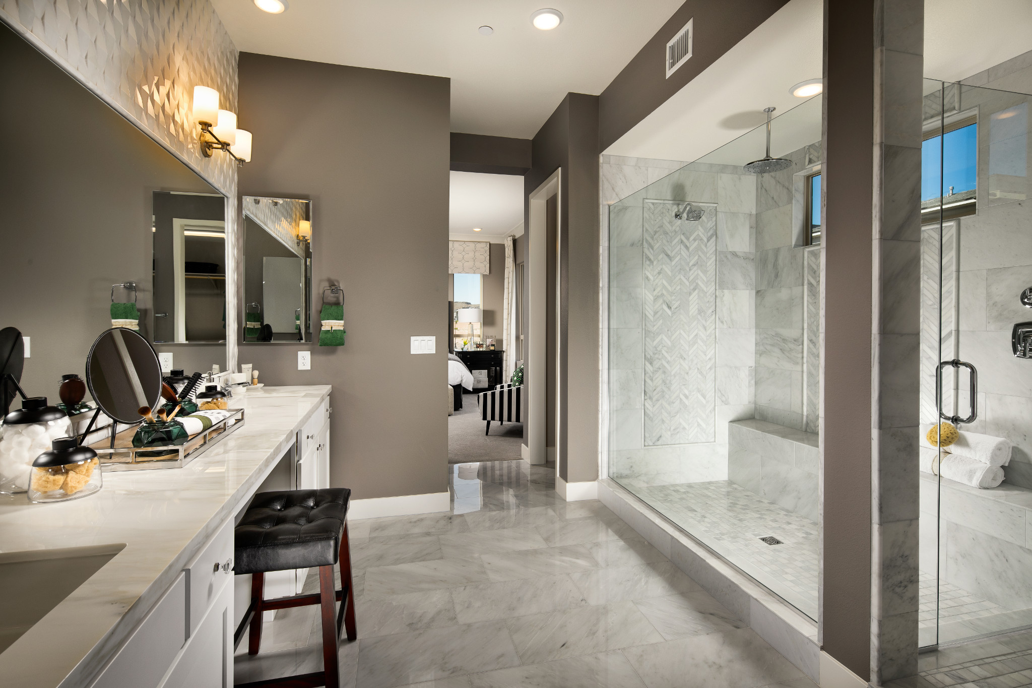 Trilogy in Summerlin Viewpoint Master Bath