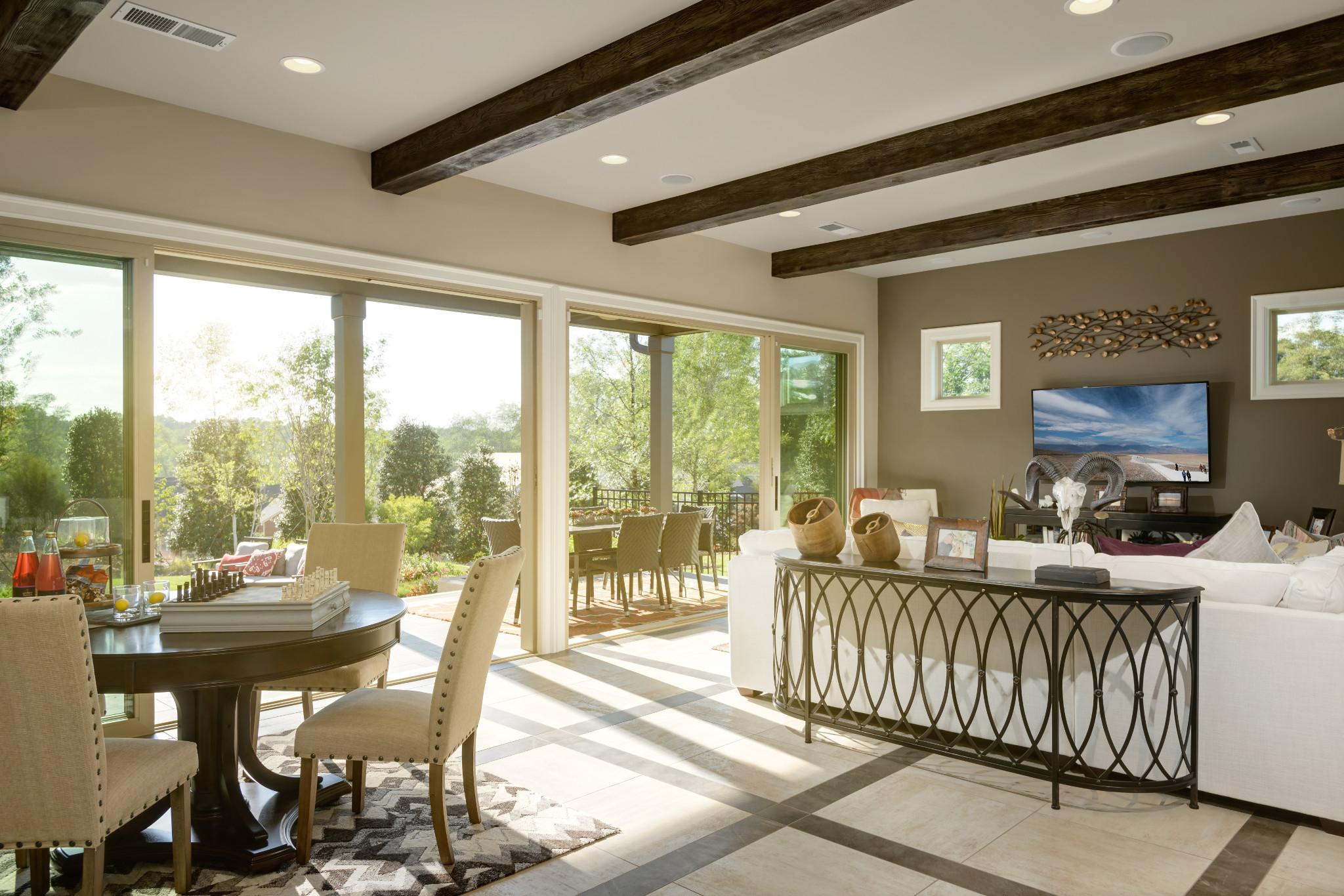Trilogy Lake Norman Balsam Plan Great Room