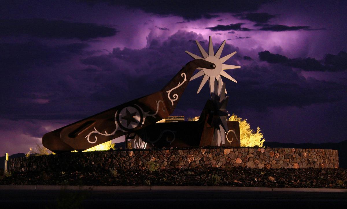 Wickenburg Ranch Community Entrance