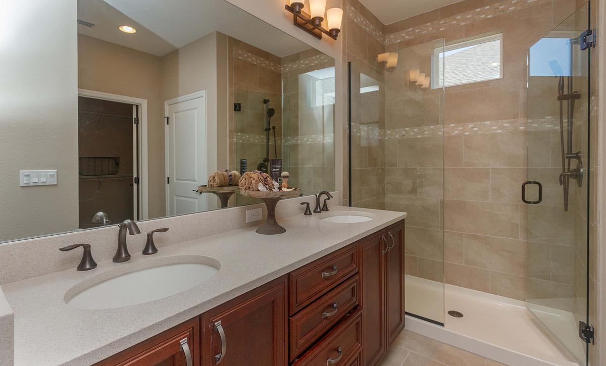 Trilogy Orlando Capri Plan Master Bath