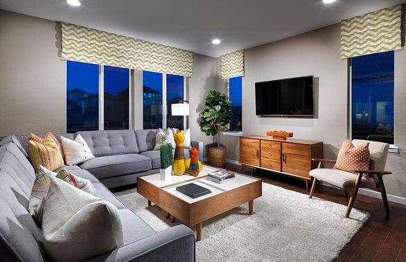 Colliers Hill Shea3D Plan 351 Great Room