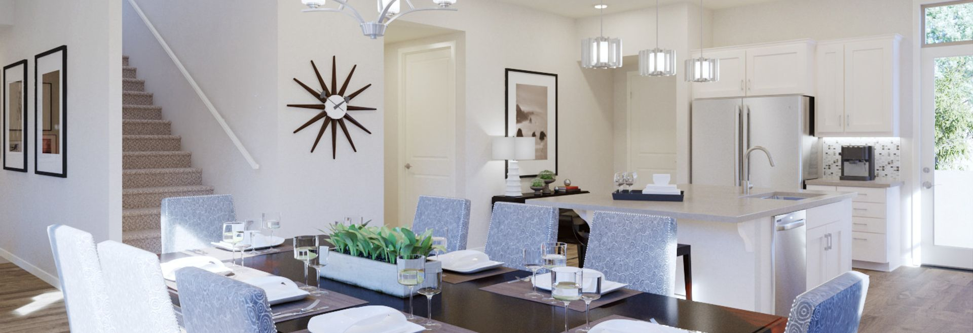 Trilogy Summerlin Radiant Virtually Staged Dining