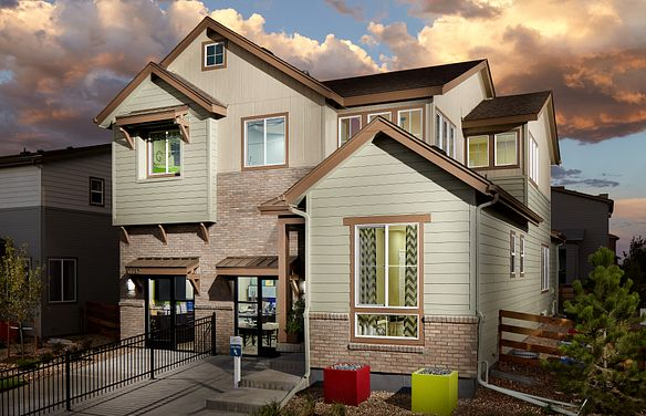 Reunion SPACES Plan 3507 Exterior