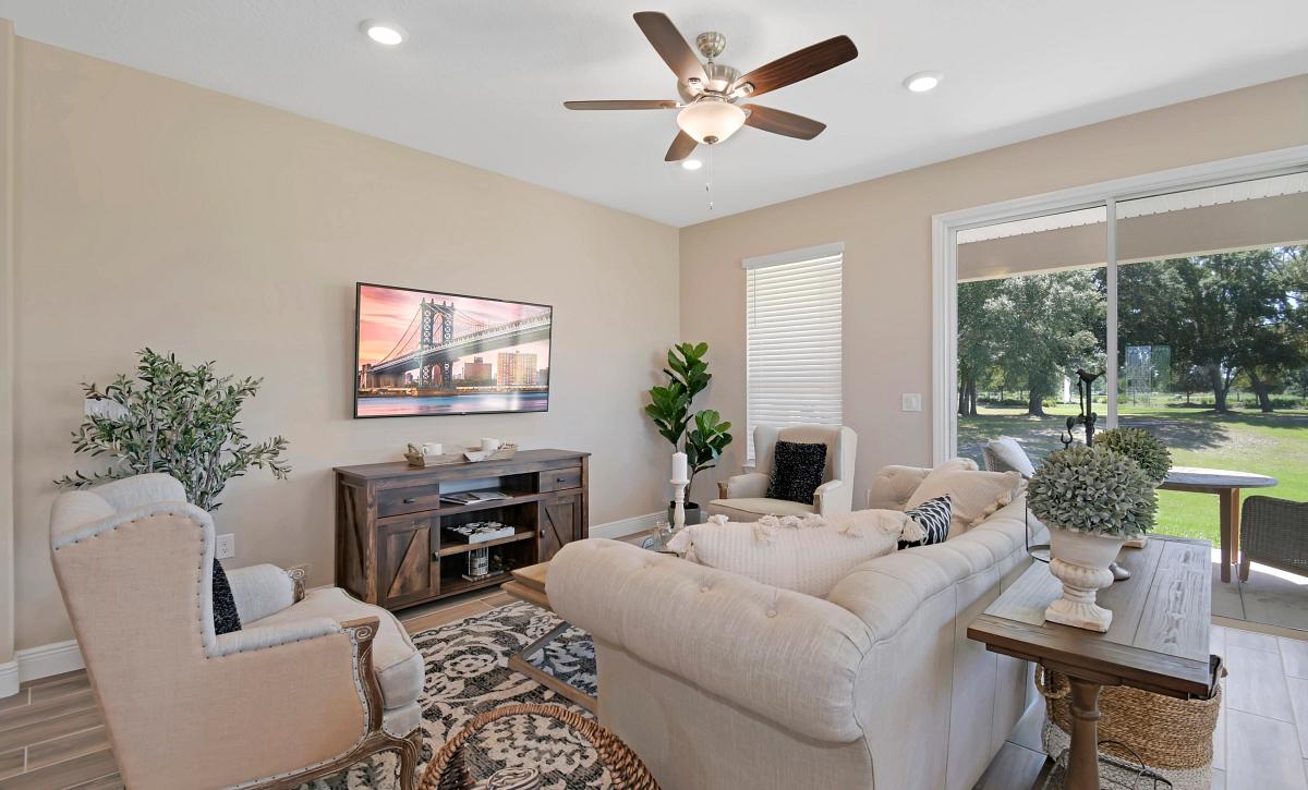 Ocala Preserve Declare Field Model Homesite 268 Great Room
