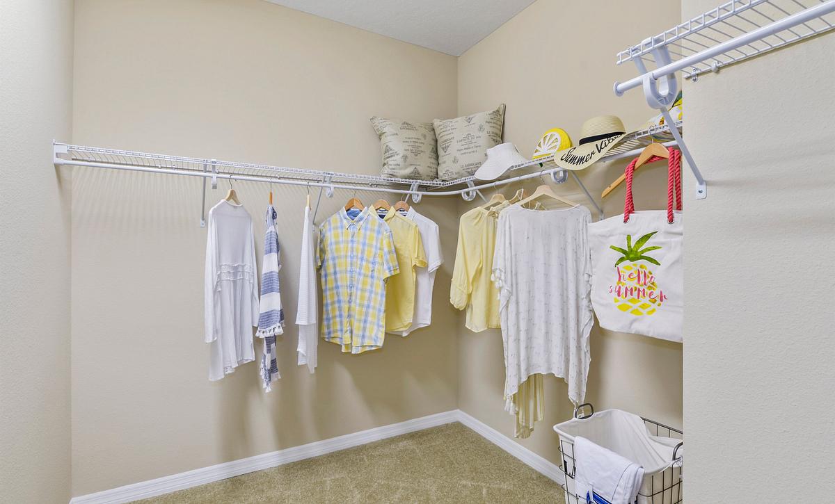 Trilogy at Ocala Preserve Declare Master Closet