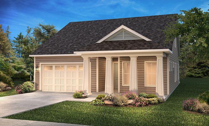 Graham + Loft Exterior A: Modern Cottage
