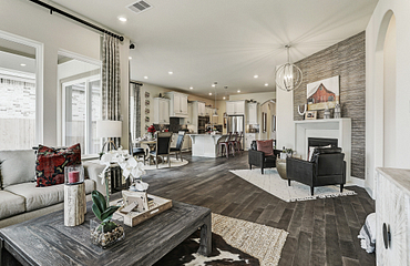 Plan 4125 Living Area