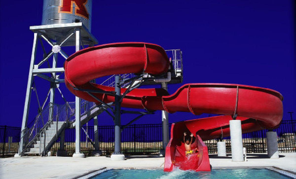 Reunion Community Rec Center Outdoor Pool Slide