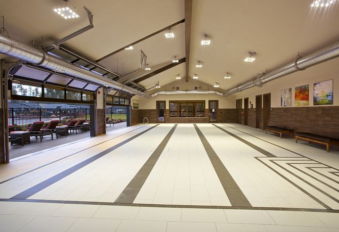 Indoor Pool & Meeting Space