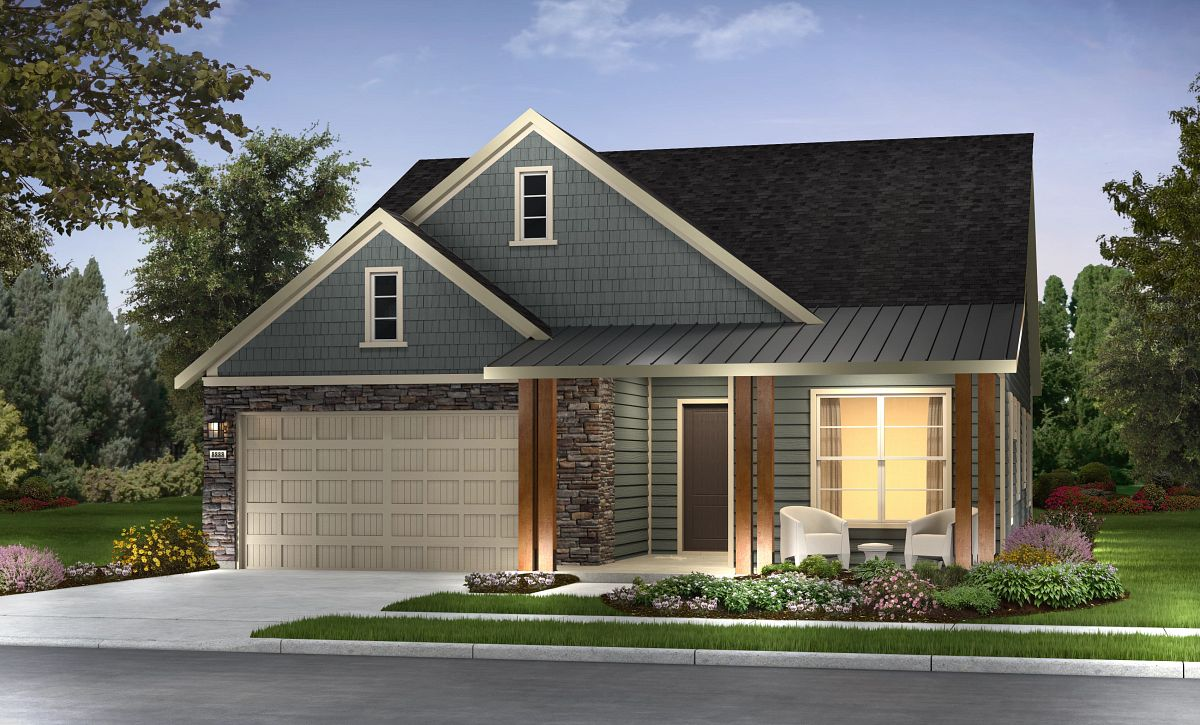 Trilogy at Lake Frederick Refresh Plan D Elevation Contemp Cape Cod