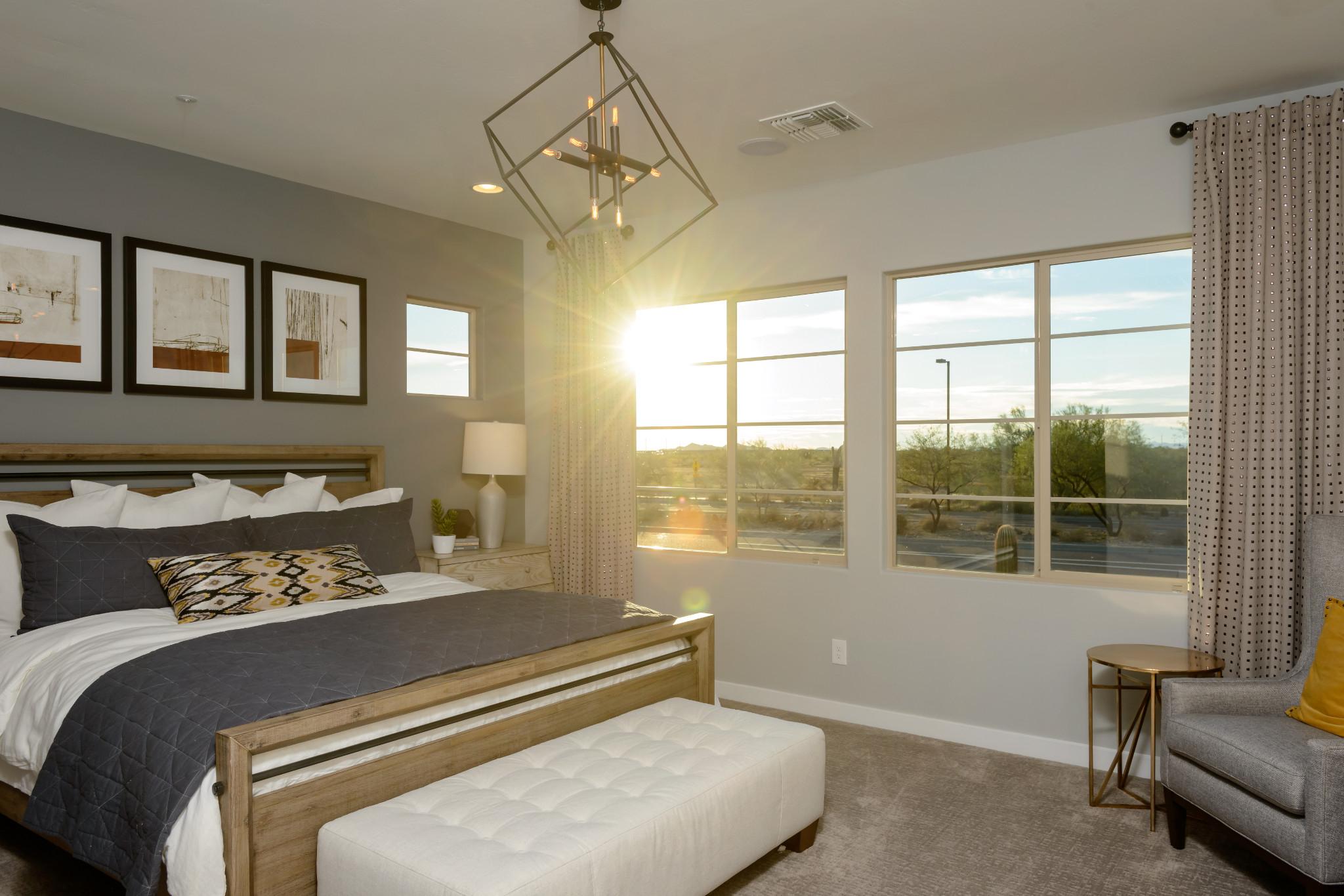24 North 1003 Polaris Plan Master Bedroom
