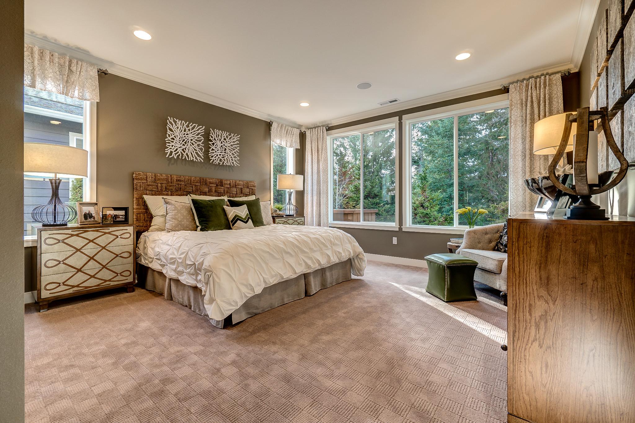 Shea Homes at Jubilee Refresg Master Bedroom