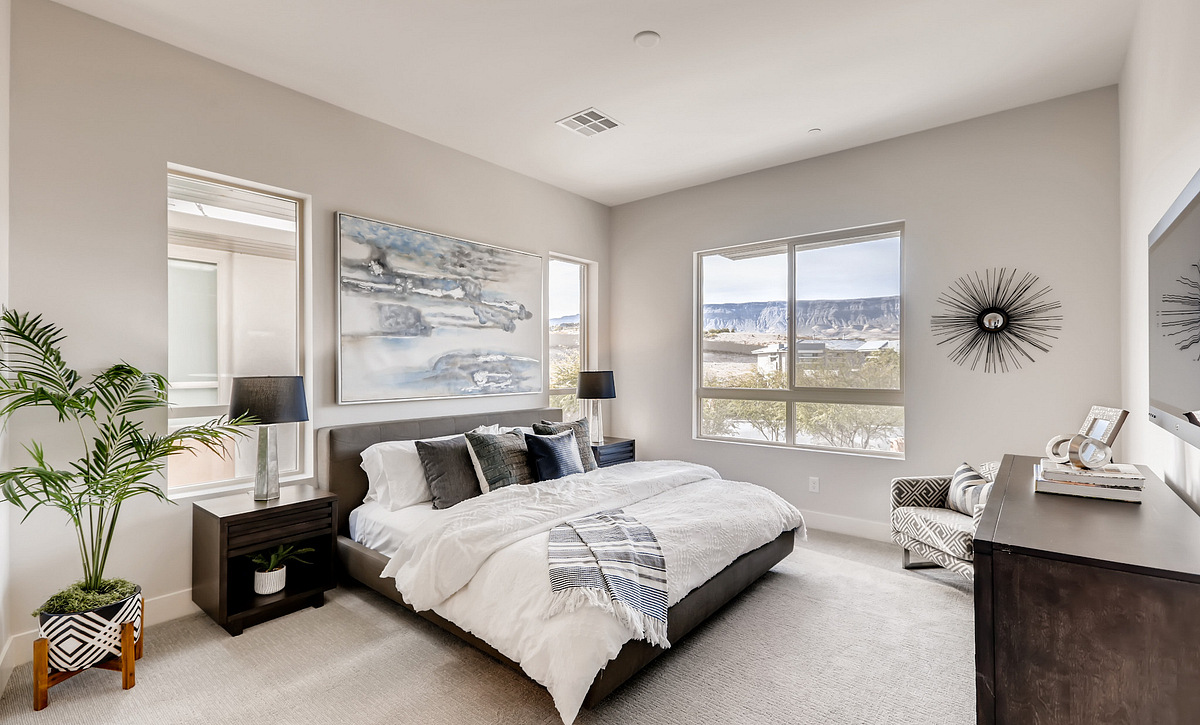 Trilogy Summerlin Summit Master Bedroom