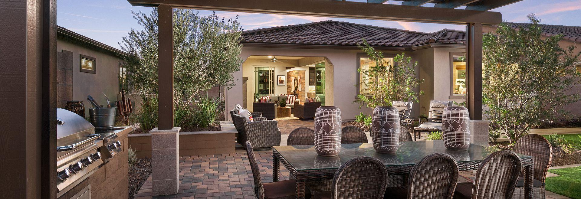 Mosaic Model Backyard