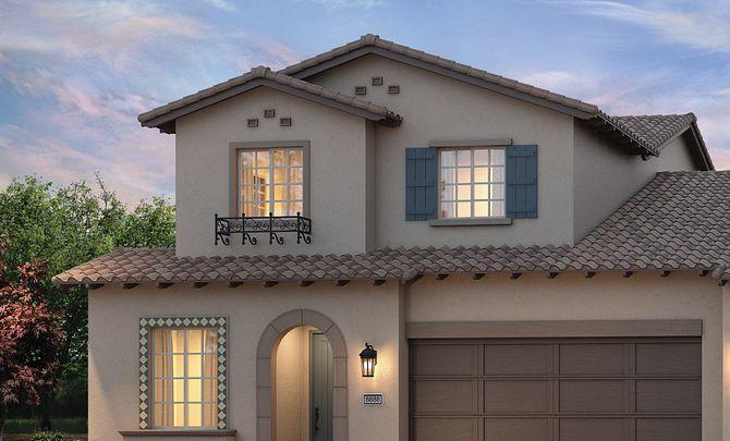 Shea Homes Rice Ranch Sage+ Santa Barbara Exterior