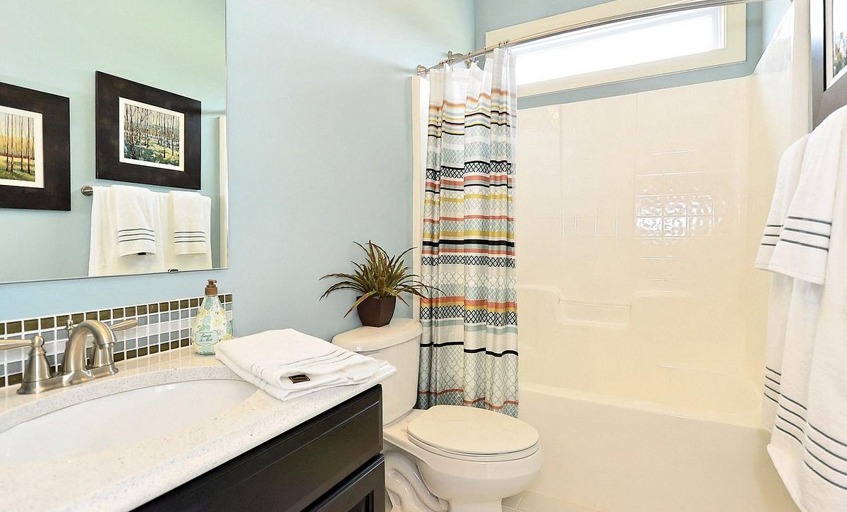Silverado plan First-floor Guest Bathroom