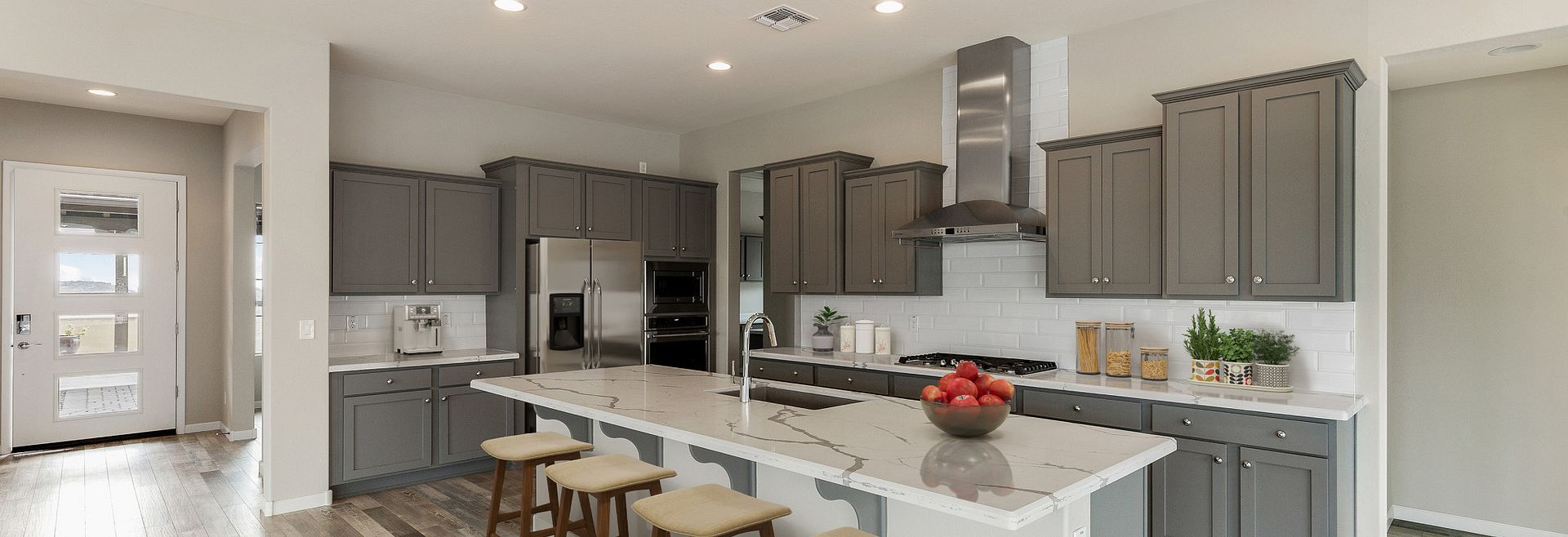 Virtually Rendered Kitchen