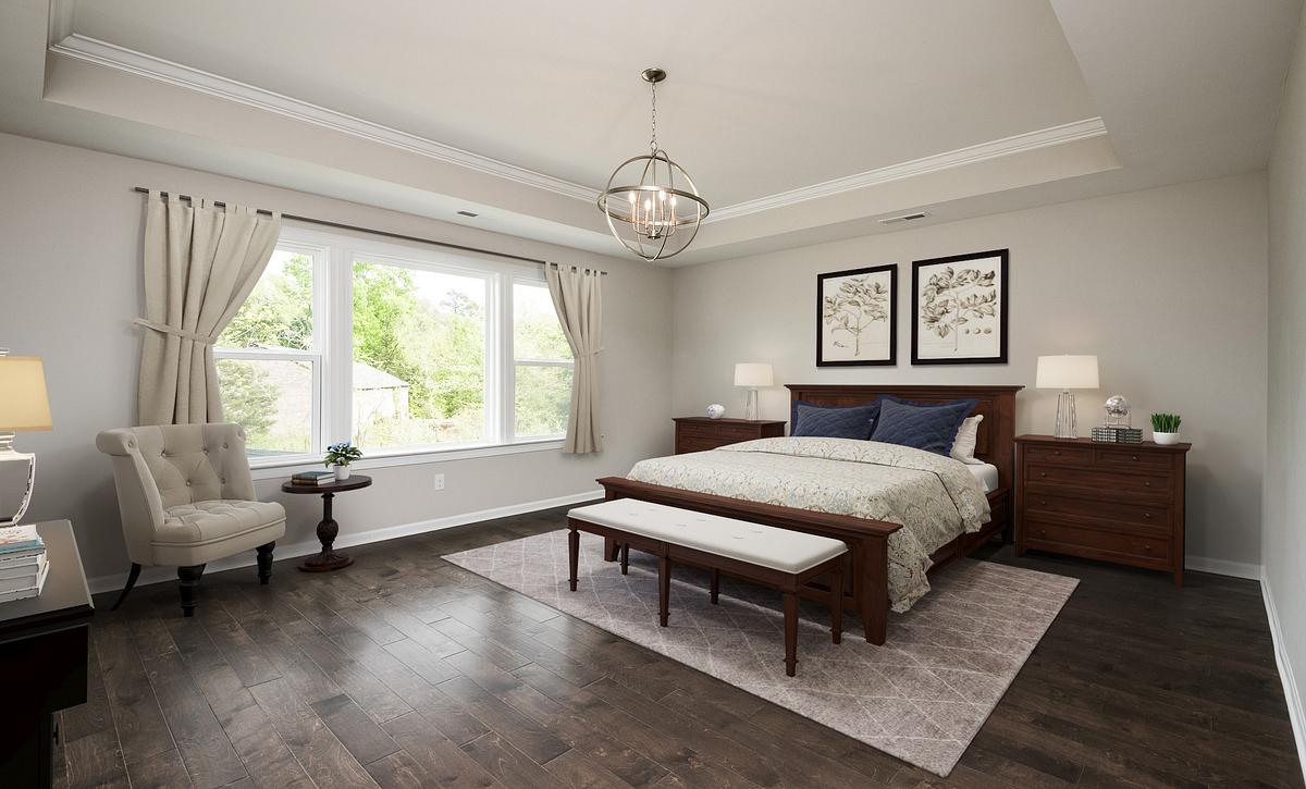 Weston plan Owner's Suite
