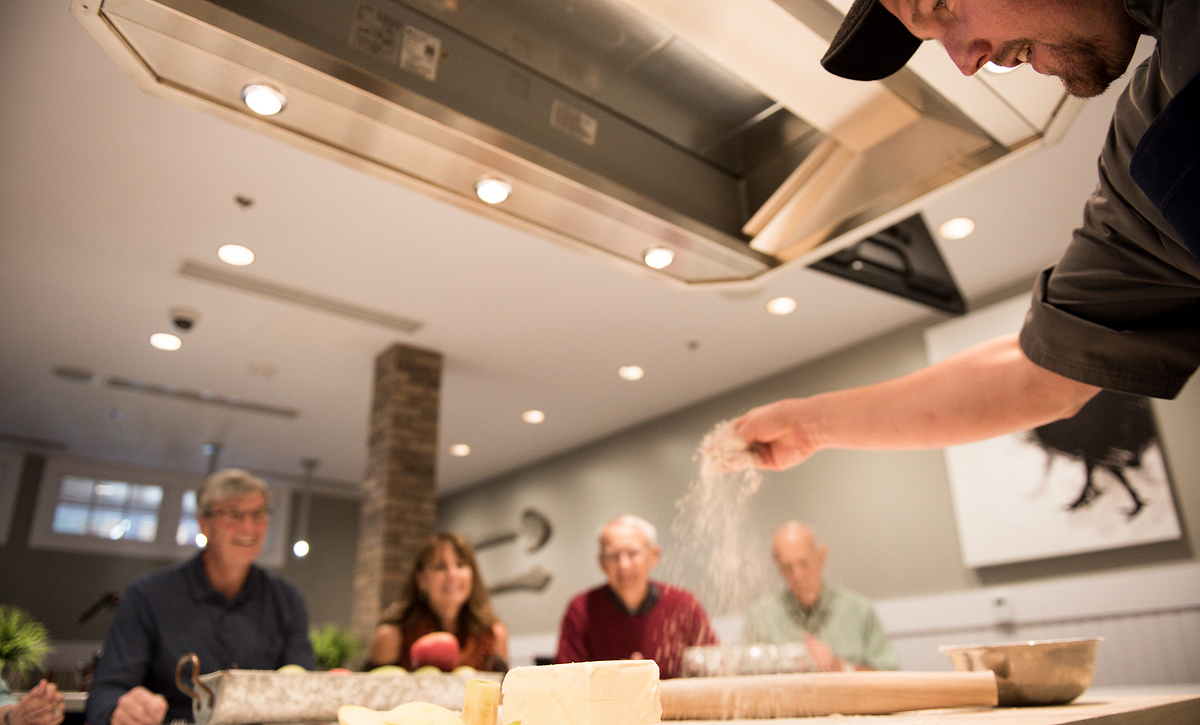 Cooking Class in the Culinary Demo Kitchen