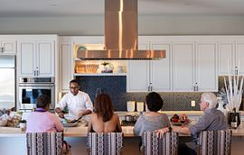 Trilogy in Summerlin  Las Vegas, NV homeowners enjoying a cooking demonstration