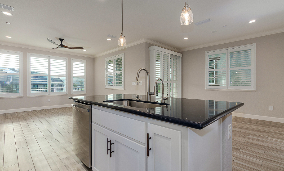 Kitchen, Great Room & Dining