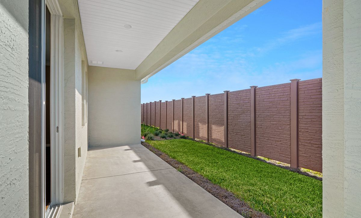 Trilogy at Ocala Preserve Quick Move In Aria Plan  Covered Lanai