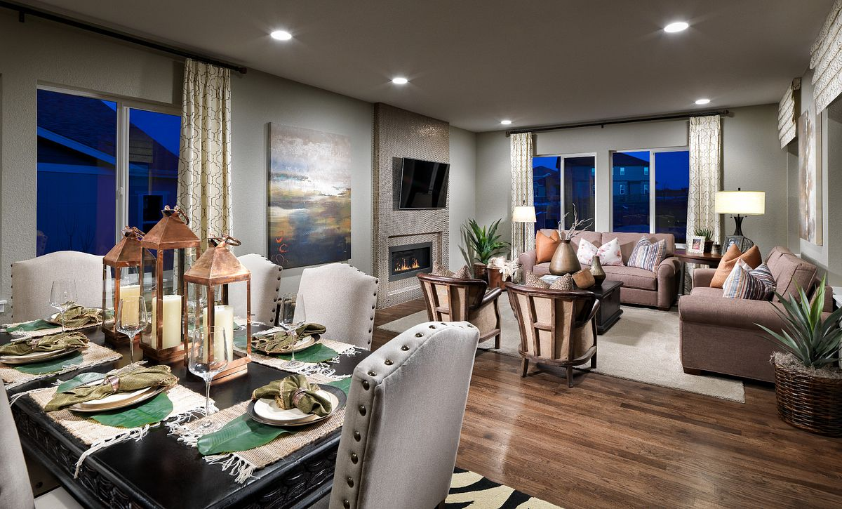 Shea3D Colliers Hill Plan 403 Dine & Great Room