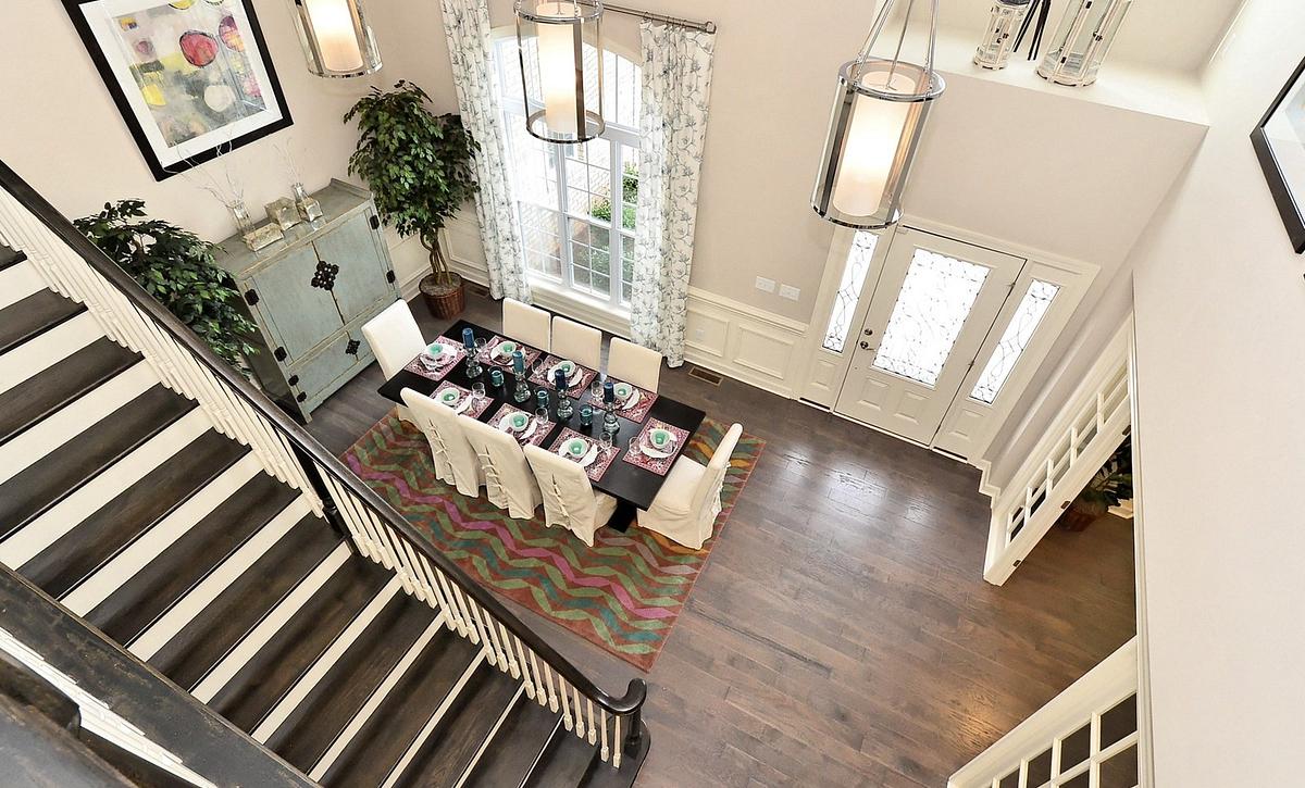 Silverado plan Foyer & Formal Room 1