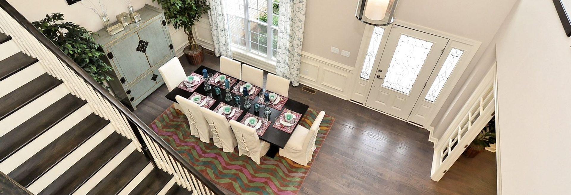 Silverado Plan Formal Room & Foyer