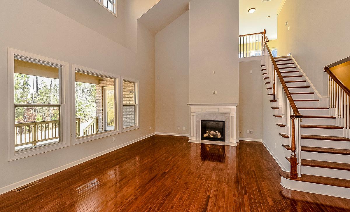 Berkshire plan Family Room 2-story option
